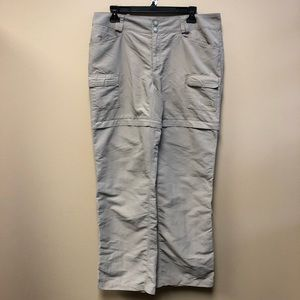 The North Face beige Convertible hiking pants 14
